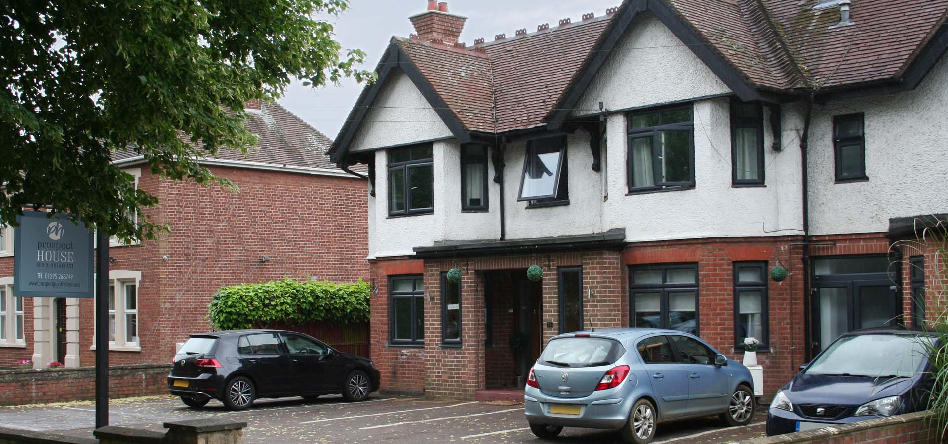 Prospect Guest House B&B Banbury Frontage
